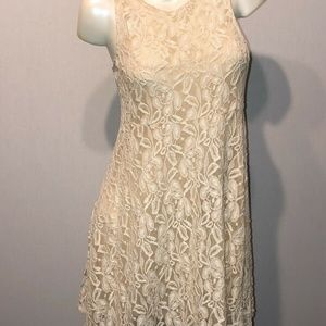 free people dress Sz S Lace Floral